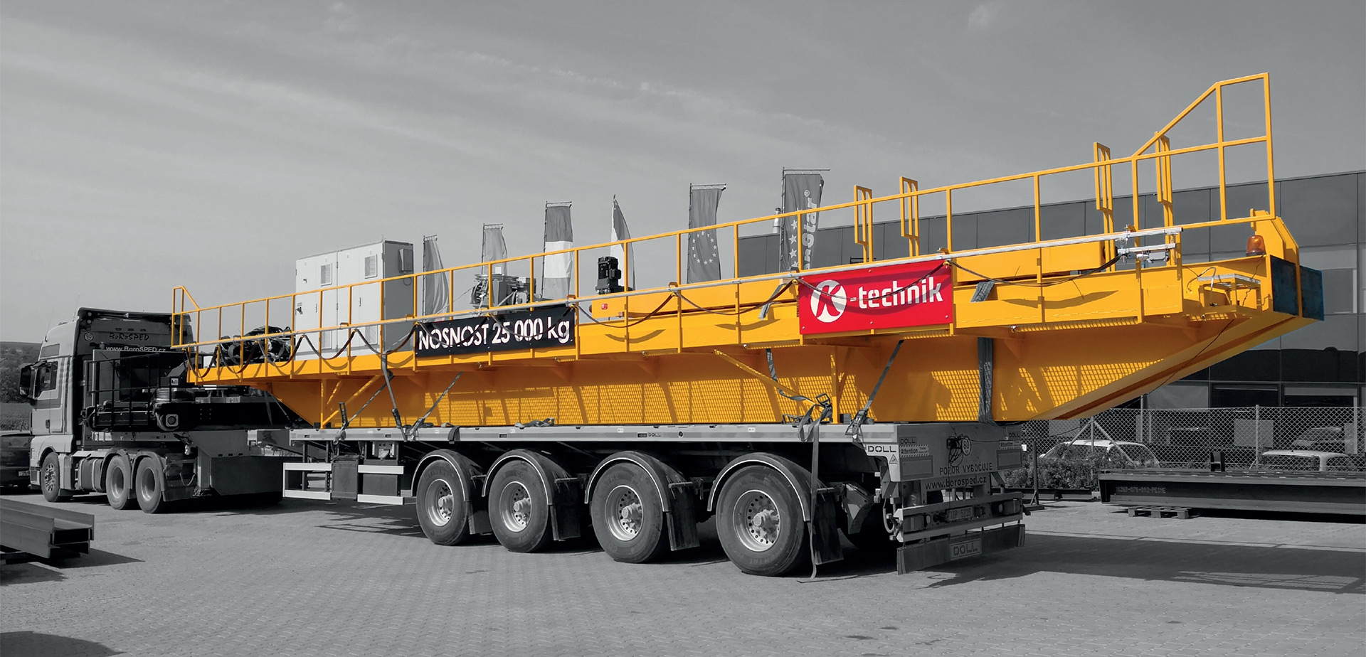 Cranes and handling equipment